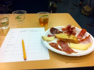 Sampling humanely raised charcuterie